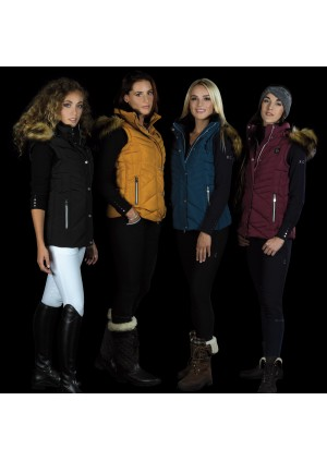 Sleeveless Ladies Jacket KORIA - Flags&Cup