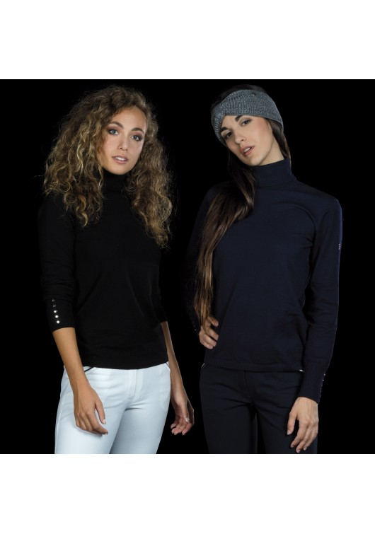 Ladies Knit Roll Neck Sweater KOTOLA - Flags&Cup