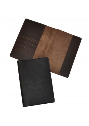 F&C passport leather cover