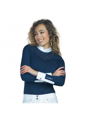 Riding Ladies Polo CASSIA - Long sleeves