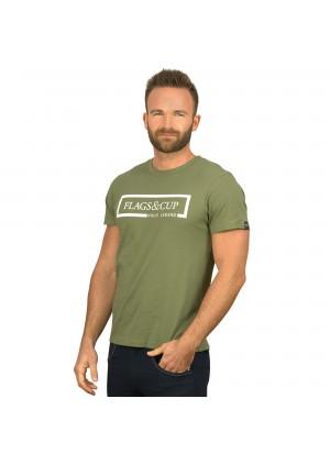 BALAO Men T-shirt – Flags&Cup