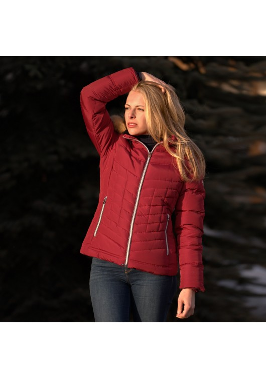 Ladies down jacket WASILLA - Flags&Cup