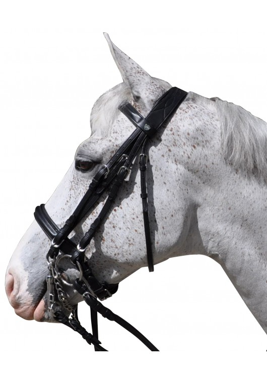 Weymouth Bridle Pull Back HAGEN