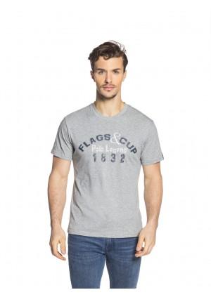 T-Shirt Homme MIXCO Gris chiné